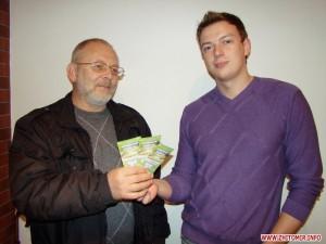 Победитель конкурса Виктор Котенко